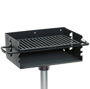Outdoor Pedestal Grill - 3