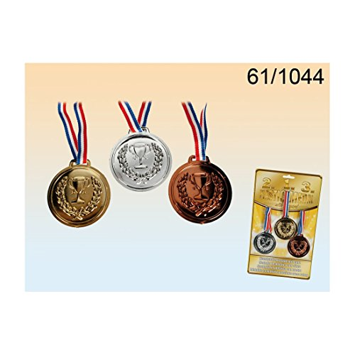 Halloween Pageant Costume Winner (New Gold, Silver and Bronze Winners Plastic)