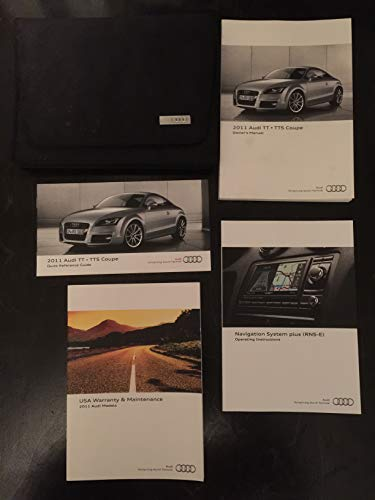 2011 Audi TT / TTS Coupe Owners Manual