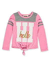 Modern Lux Girls' Hi Hello L/S Top