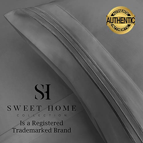Sweet Home Collection Extra Soft Microfiber Deep Pocket Bedding Set