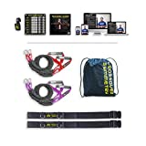 Crossover Symmetry Athletic Individual Package with Door Belts - Shoulder Health and Performance System. Perfect for Crossfit, Warmups, Arm Care, Rotator Cuff Exercises or Rehab