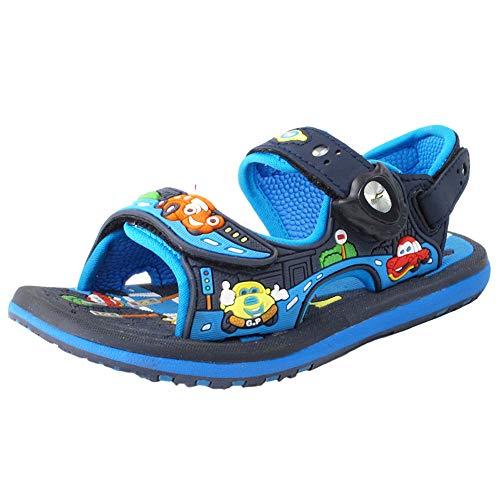 #211 Classic Kids Sandals Boys : 7603 Blue, EU27 (Size: Toddler 9-9.5)