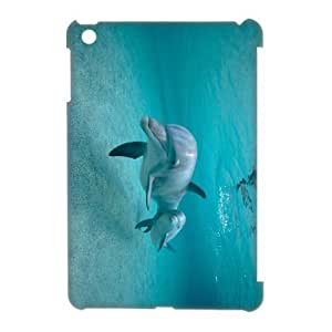 3D Case Of Dolphin 3D Bumper Plastic Customized Case For iPad Mini by icecream design