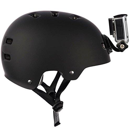 Yantralay School Of Gadgets 9 in 1 J- Hook Front & Side Helmet Mount With 3M Sticker For GoPro, SJCAM, Eken & Other Action Cameras