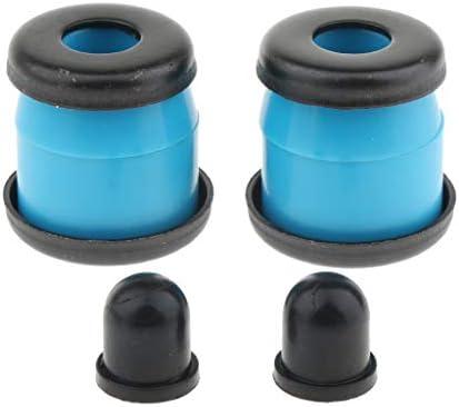 Perfeclan スケートボードブッシュ ピボットカップ ワッシャー ロングボード部品 全5色