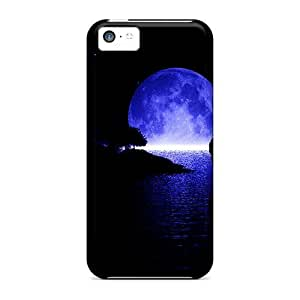 Protection Case For Iphone 5c / Case Cover For Iphone(moon Reflection)