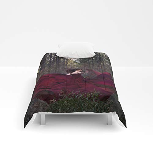 Society6 Comforter, Size Twin XL: 68'' x 92'', If You Go Down to The Woods Today by hayleyrphoto by Society6 (Image #1)