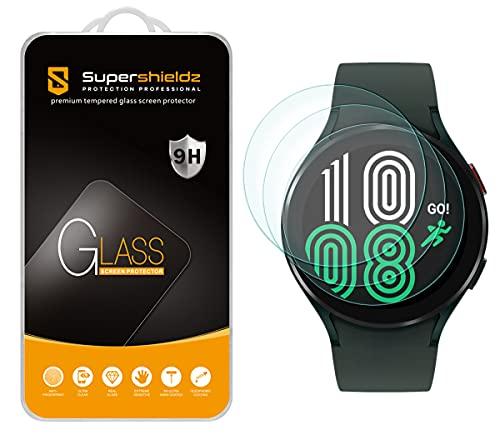 3 vidrios templados para Samsung Watch 4 (44mm) supershieldz