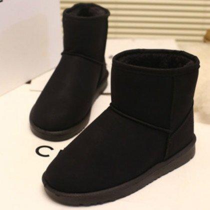 FLYRCX Herbst und Winter Schnee Stiefel wasserdicht Rutschfest Rutschfest Rutschfest Freizeit Mode Dame mit Samt Dicke warme Schuhe  c630d0