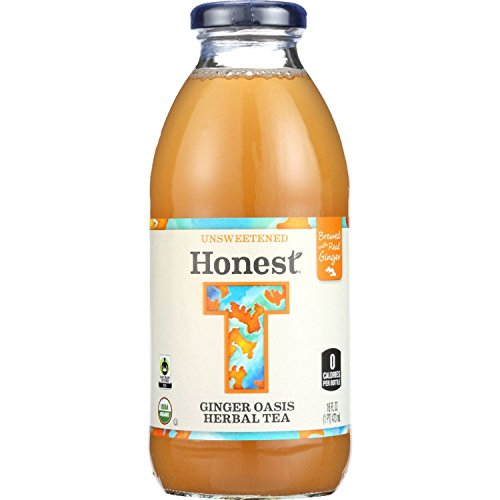 Honest Tea Tea - Organic - Glass Bottle - Ginger Oasis Herba