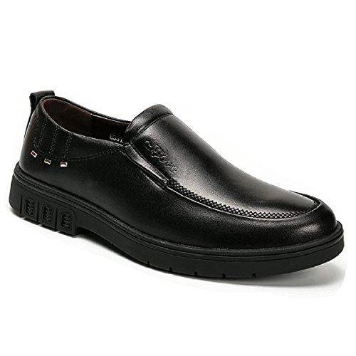 de Cuir Chaussures Sport Classiques Pour Black2 Oxford Hommes OEMPD D'Affaires de Chaussures EvqYnxw80