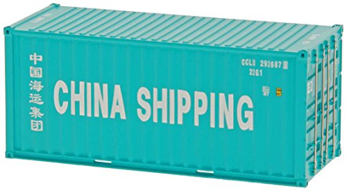 Intermountain/A-Line HO-Scale 20' Corrugated Container (2-Pack) China Shipping (China Railway Station)