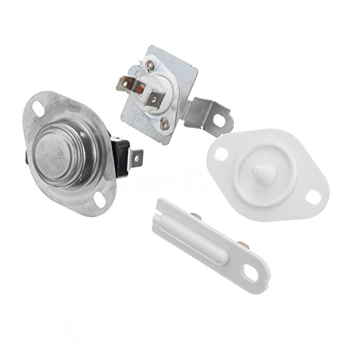 MAYITOP 279973 8577274 3392519 Dute Dryer Thermostat Thermal Fuse Set Cut Off Kit With For Whirlpool from MAYITOP