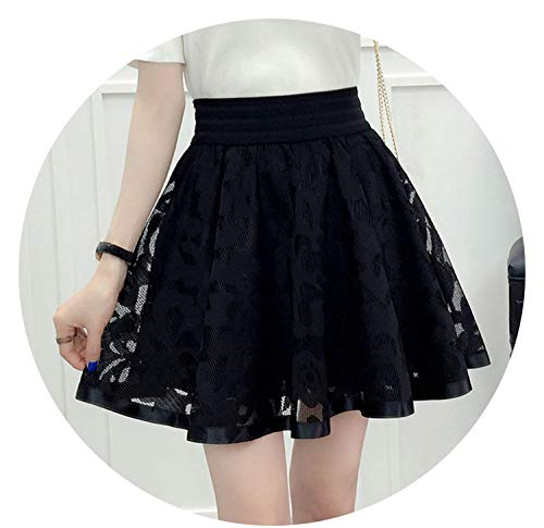 Harajuku 2019 Women on High Waist Pleated Skirt Cosplay Kawaii on Girl Mini -