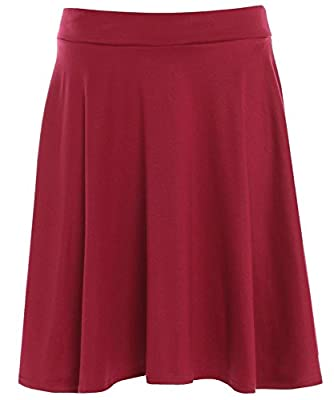 Click Selfie Womens Flared Skater Party Skirts