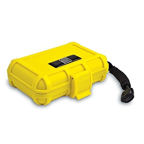 S3 T1000 Dry Protective Gun Case, Yellow, Foam Liner, ()