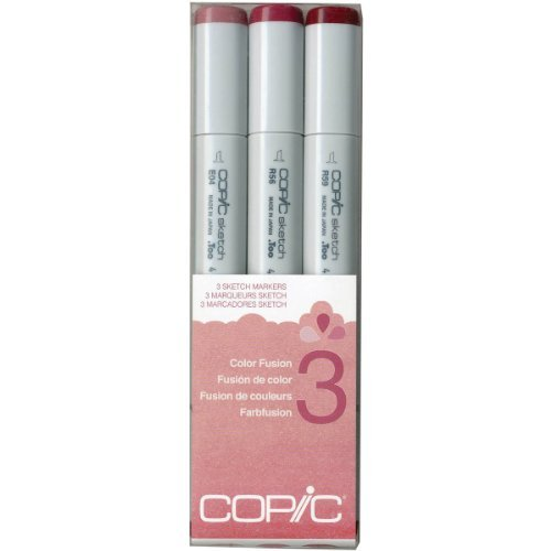 Copic Marker Sketch Farbe Fusion Markers, CSCF 3, 3-Pack by Copic Marker B01KB7PMGS | Lebhaft und liebenswert