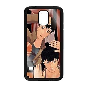 double men anime for black Samsung Galaxy S5 Hard Case yiuning's case wangjiang maoyi