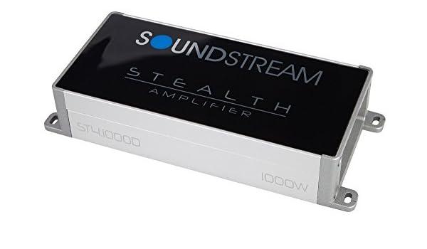 Soundstream st4.1000d Stealth serie 1000 W clase D amplificador de ...