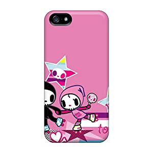 Hot Fashion NCT5142HPmC Design Cases Covers For Iphone 5/5s Protective Cases (tokidoki)