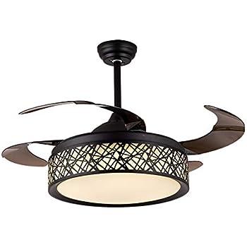 Amazon Com 42 Inch Modern Retractable Blade Ceiling Fan