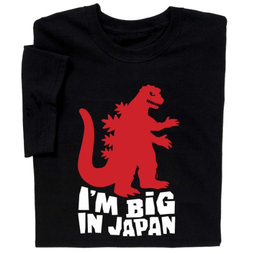 Godzilla I'm Big In Japan T-shirt