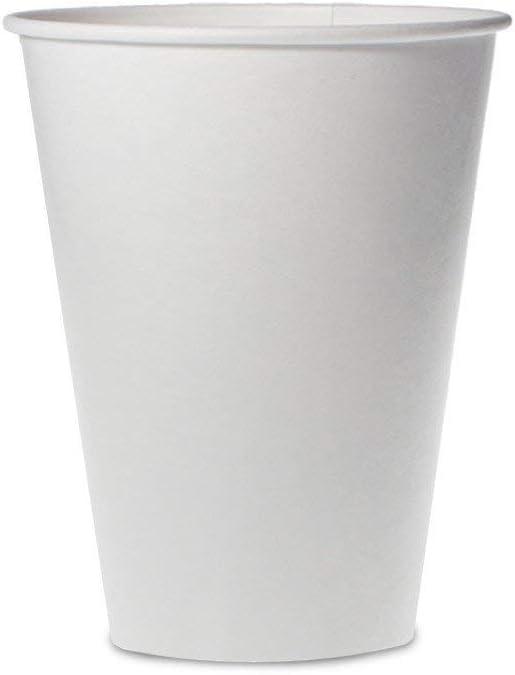 50 Vasos 500 ML Bio capacidad diámetro 9 Cartón y PLA ...