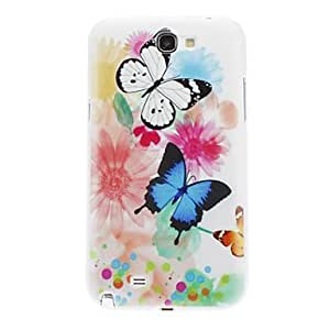 Dancing Butterflies Pattern for Samsung Galaxy Note2 N7100