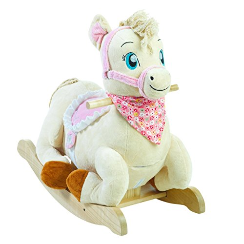 Rockabye Princess Pony Rocker, One Size