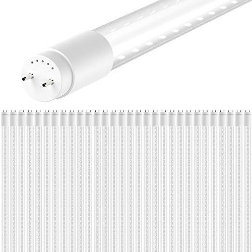 Sunco-Lighting-30-Pack-4FT-T8-LED-Tube-18W40W-Fluorescent-Clear-Cover-5000K-Daylight-Double-Ended-Power-DEP-Ballast-Bypass-Commercial-Grade-ETL-DLC-Listed