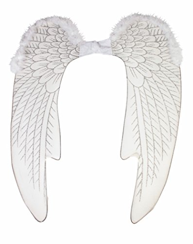 Forum Novelties Women's Deluxe Angel Wings, Large, White