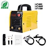 ARC Welder - ARC Welding Machine, 110V, 200Amp Power, IGBT AC DC Beginner Welder With LED Digital Display Use Welding Rod Equipment Tools Accessories
