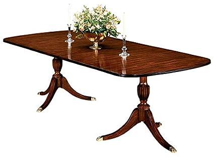 Henkel Harris Model #2208 Duncan Phyfe Mahogany Dining Room Table ~ NEW