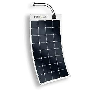 Amazon Com Expertpower 100 Watt Sunpower Flexible