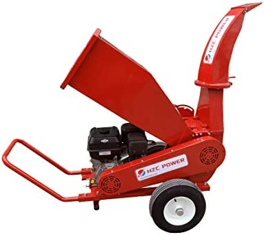 HZC Power SR180 Motor de gasolina madera trituradora de jardín trituradora de jardín trituradora de madera, trituradora de madera, trituradora de madera, madera blanda y dura: Amazon.es: Bricolaje y herramientas