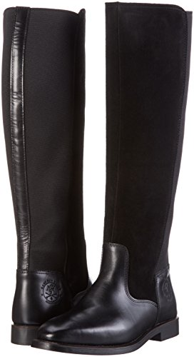 G00 Femme Schwarz Noir Gant Jennifer Hautes Bottes black wtfwx0qF