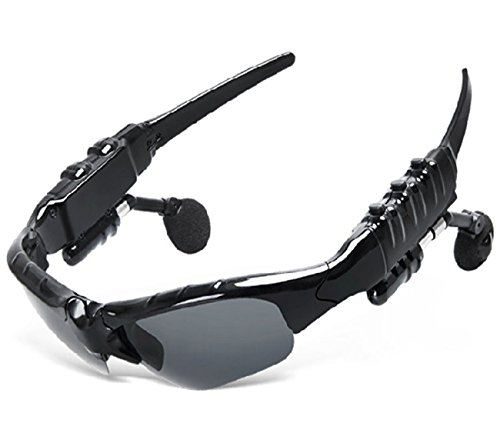 Bluetooth multifunction stereo Sunglasses-Outdoor car use hands-free voice intelligence - Headphones Sunglasses Zungle
