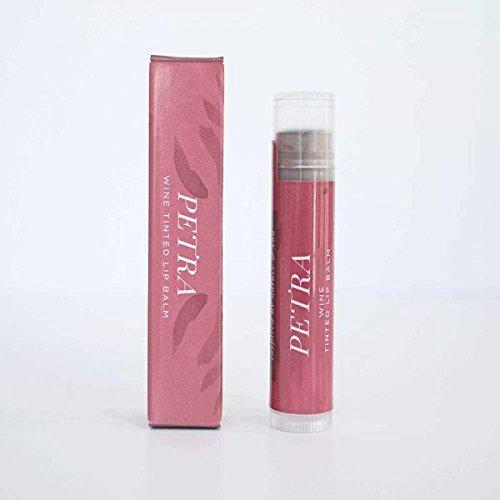 ONE Petra Wine Tinted Organic Lip Balm.15 oz Tube by Honestly Margo