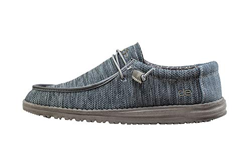 (Hey Dude Men's Wally Sox Micro Sterling, Size 13)