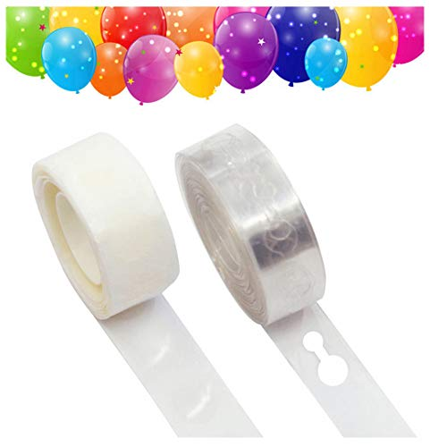 (Balloon Arch Garland Decorating Strip, Balloon Decorating Strip, Dot Glue, for Party Easy to Make Balloon Garland(Pack of)