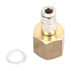 Forney 85359 MIG Regulator Adapter, Gas Line-to-Regulator, 4mm from Forney