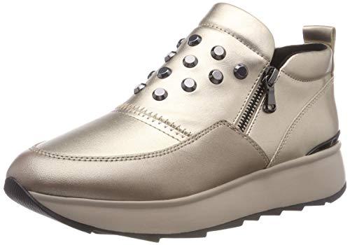 Damen Geox D Gendry Un Feuillet Sur Chaussure, L'or (cb500 Champagne)