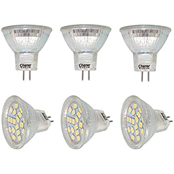 2 Pack Ac Dc 12v 3w Mr11 Led Bulb Led Spotlight 35w