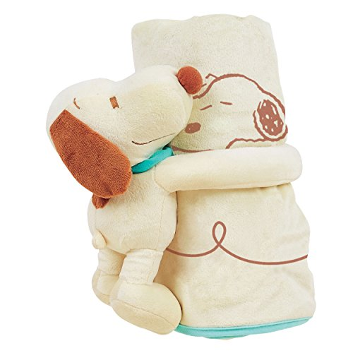 Baby Snoopy Blanket - Torrance Trading 30678 Snoopy Infant Blanket with Plush