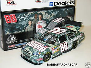 (2008 DALE EARNHARDT JR. #88 NATIONAL GUARD DIGITAL CAMO IMPALA SS 1/24 ACTION GM DEALER CLEAR WINDOW CAR Only 1500 GM Dealers Edition Made HOOD OPEN TRUNK OPEN WITH ROOF FLAPS SEQUENTIALLY NUMBERED)