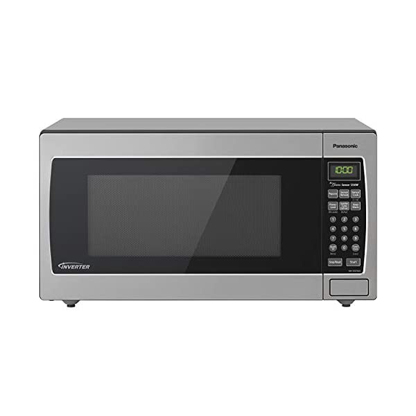 Panasonic Microwave Oven NN-SN766S Stainless Steel Countertop/Built-In with Inverter Technology and Genius Sensor, 1.6… 1
