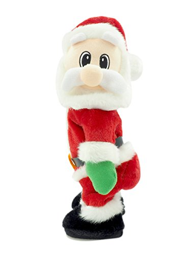 Electric Santa Claus-Singing and Twerking,Best Christmas Gift for Kids or House Decoration.