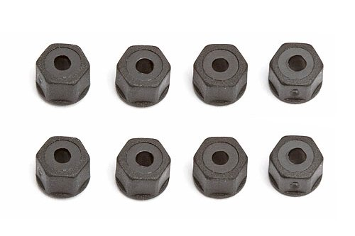 Team Associated AE6222 - Nylon Locknuts, 4-40/5-40, Self-Threading , Black LRP electronic GmbH ASC6222