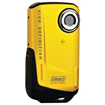 Coleman Elbcvw9Hdy Coleman 8.0 Megapixel 1080P Hd Xtreme Digital Video Camera (Yellow)